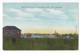Swainsboro - Bird's-eye View Of Swainsboro, From Academy - Etats-Unis