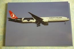 TURKISH AIRLINES  B 777 300   TC JJN - 1946-....: Moderne