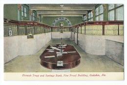 Gadsden - Etowah Trust And Saving Bank, Fire Proof Building - Etats-Unis