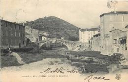 34-492   CPA  LODEVE  Le Pont De Montifort        Belle Casrte - Lodeve