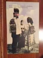 AK  BOSNA  BOSNIA   NATIONAL VOLKSTRACHTEN IN BOSNIEN U. HERZEGOVINA  1914. - Bosnia And Herzegovina