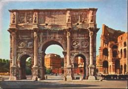 CPSM. - PUB. Des Labo. ROGER BELLON - ROMA Arco Di Costantino - Datée Milano 1955 - BE - Werbepostkarten