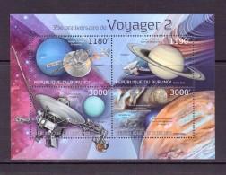 BURUNDI 2012  VOYAGEUR 2  YVERT N°NEUF MNH** - Space