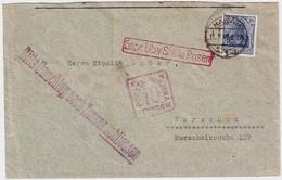 1918, (11. 7.) Hanau Nach Warschau , #6544 - Covers & Documents
