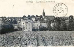 Tarn - Saint Paul Cap De Joux - Vue Générale Coté Nord - Saint Paul Cap De Joux