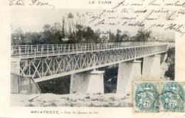 Tarn - Briatexte -  Pont Du Chemin De Fer - Saint Paul Cap De Joux