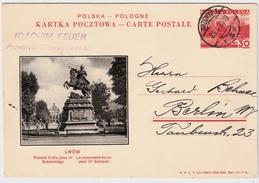 """1938, Bild-GSK, 30 C. """" LWOW """", #6551 - Ganzsachen"""