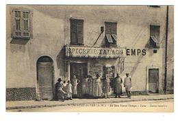 """CPA 06 ST LAURENT DU VAR Epicerie Tabac """"Au Bon Vieux Temps"""" - Saint-Laurent-du-Var"""