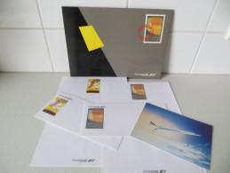 Avion LE CONCORDE Pochette Papier à Lettres, Enveloppes, Carte - Cancelleria