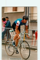 Scott TIMMERMANS . Lire Descriptif. 2 Scans. Cyclisme. - Cyclisme