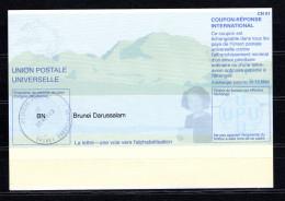 8646 IRC - IAS CRI - International Reply Coupon - Antwortschein T 31 Mit Stempel Brunei-Darressalam BN20011130AA - Brunei (1984-...)