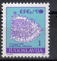 Yugoslavia,For EC In Judo In Dubrovnik 1990.,MNH - Neufs