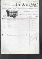 THY  LE CHÂTEAU     Ets. J. DUPONT ( Carrosserie , Fabrique De  Remorques ) - Transport