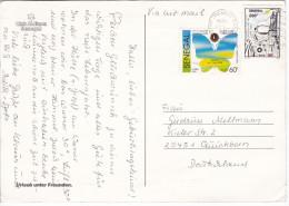 CP1215 Senegal Club Aldiana Nice Stamp Mi 1242 Astronaut And Rocket John Glenn - Senegal