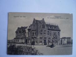 Egmond Aan Zee // Duingezicht - Het Zeehuis En Villa's Jeanne En Jette // Gelopen 1920 - Egmond Aan Zee