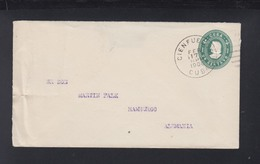 Cuba Stationery Cover 1906 Cienfuegos To Germany - Lettres & Documents