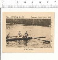 Image Chocolat Collection Ibled Scènes Sportives / Aviron / Rowing Sport / IM 70/8 - Other