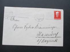 DR 1927 Nr. 404 EF Deutsche Nothilfe. Landshut 2 - Briefe U. Dokumente