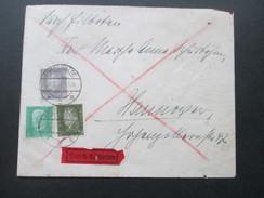 Deutsches Reich 1931 Durch Eilboten / Eilbrief Reichspräsidenten MiF - Briefe U. Dokumente