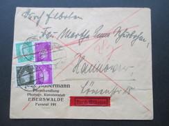 Deutsches Reich 1932 Durch Eilboten / Eilbrief Reichspräsidenten MiF - Briefe U. Dokumente