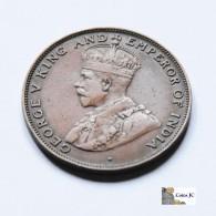 Hong Kong - 1 Cent - 1923 - Hongkong