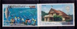 (141+371) Thailand / Thailande  Fish And Siam Society  ** / Mnh  Michel 1060 + 1239 - Thailand