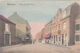 Herstal - Rue Large Voie (animée, Colorisée, 1919) - Herstal