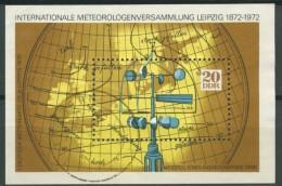 BL6-209 DDR, EAST GERMANY MI M/S,BLOCK 34-36 METEOROLOGY, METEOROLOGIE. USED, OBLTERE, GEBRUIKT. - [6] Oost-Duitsland