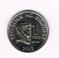 °°°  PILIPINAS  1  PISO  2002 - Philippines