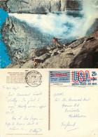 Yosemite Falls, Yosemite National Park, Wyoming, United States US Postcard Posted 1979 Stamp - Yellowstone