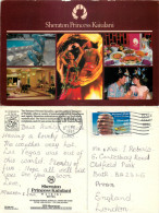 Sheraton Princess Kaiulani Hotel, Oahu, Hawaii, United States US Postcard Posted 1992 Stamp - Oahu