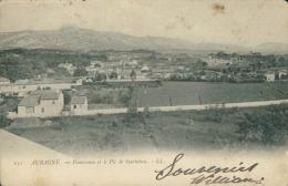 13 AUBAGNE / Panorama Et Le Pic De Garlaban / - Aubagne