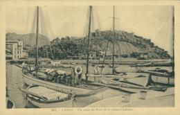 13 CASSIS / Coin Du Port Et Le Vieux Château / - Cassis