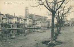 13 MARTIGUES / Le Cours De L'Ile / - Martigues