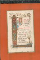 IMAGE PIEUSE   Chromo   LSOUVENIR PREMIERE COMMUNION  Marie Louise CROUE   Nov 2016 46 - Devotion Images