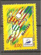 FRANCE : N° 3076 ** (Coupe Du Monde De Football : Nantes - Frankreich