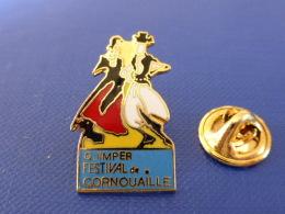 Pin´s Quimper Festival De Cornouaille - Bretagne - Danse Musique Folklore (UA21) - Ciudades