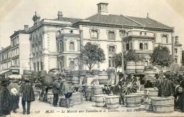 Tarn - Albi - Le Marché Aux Futailles Et Le Théatre - Futs - Baquets - Comportes - Alban