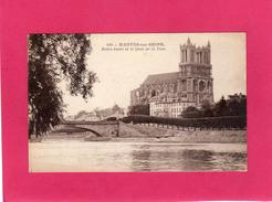 78 YVELINES, MANTES-SUR-SEINE, Notre-Dame Et Le Quai De La Tour, ((Phot-Edit. Blaincourt-les-Plécy) - Mantes La Jolie