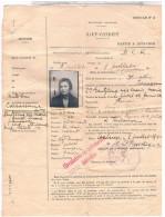 Aviation TOULOUSE  SAUF CONDUIT 1940 INTERDIT AUTO MODE LOCOMOTION BUS..DOC40 - Documents Historiques