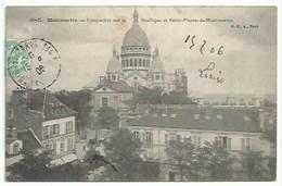75 Paris - Montmartre Perspective - Frankrijk