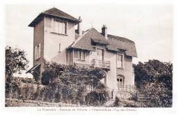 Nos Châteaux En Auvergne - Chamalières - Le Château De La Roseraie, Avenue De Villars - Très Beau Plan - France