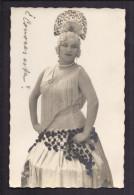CPA ARTISTE FEMME ESPAGNOLE - Danseuse Flamenco - Robe Coiffure - Espagne - Artistes