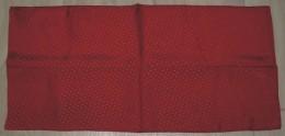 Foulard  Rouge à Petits Pois 1.44 M X 35 Cm Neuf  60% Soie 40% Acétate - Scarves