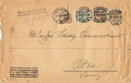 19939. Carta Drucksache BERLIN (Alemania Reich) 1923. Perfin, Firmenlung, Perforado Comercial - Ganzsachen
