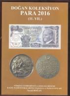 AC - TURKISH BANKNOTES & COINS BOOK - CATALOGUE 2016 NEW - Livres & Logiciels