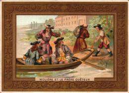 5 Chromos Caisse Ouvriere De Retraite De Bordeaux -  Grande Tombola - 1898 - Histoire -2-  R/V - Lottery Tickets