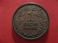 Allemagne - Reichs Mark 1925 A Berlin 1722 - [ 3] 1918-1933 : Weimar Republic