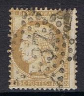 N°55 Etoile 37 - Marcophilie (Timbres Détachés)