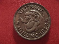 Australie - Shilling 1943 S George VI 1714 - Monnaie Pré-décimale (1910-1965)